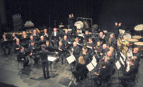 EN GOD NUMMER TO: Kongsberg byorkester vant andreplassen for korps i regionmesterskapet i Lillestrøm i helgen.