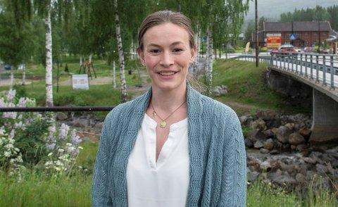HELDIG: Ordfører i Rollag, Viel Jaren Heitmann, roser test-teamet i Rollag. Hun er glad for at det kun har blitt påvist ett smittetilfelle i kommunen, tirsdag.