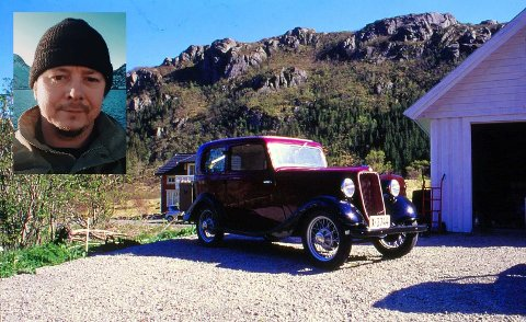 Jonas Strømmen fra Napp må selge favorittbilen, en gammel Ford fra 1930-tallet.