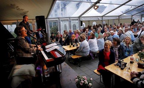 Tilbake igjen: Ingrid Bjørnov har spilt på Losen flere ganger tidligere. Her fra konserten i 2013. Foto: Geir Hansen