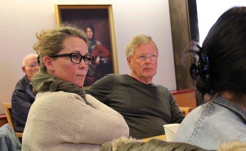 På tynn is: Kommunalsjef Anne Lise Stokmo mente Moss kommune er på tynn is i kravet mot Bane Nor. Det lyttet utvalgsleder Tomas Colin Archer og flertallet til.