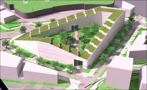 400 LEILIGHETER: I Gartnerikvartalet ønsker brødrene Andersen å bygge 400 leiligheter i et storkvartal. Kvartalet skal bygges i åtte etapper.