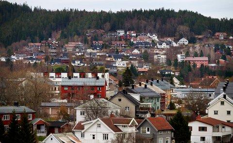 OVERDRAGELSER: I denne saken ser du sist ukes eiendomsoverdragelser i Namdalen. Her ser du et arkivbilde fra boligfeltene i Rønningsåsen, Høknesåsen og Østbyen i Namsos.
