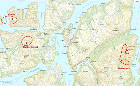 4G: Oversikt over hvilke steder der det planlegges utbygging av 4G- mobilnett