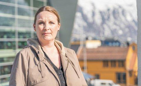 ØKNING: Monica Simonsen i Barneverntjenesten i Tromsø forteller at de opplever en stor økning i bekymringsmeldinger om barn ned i 13-årsalderen.