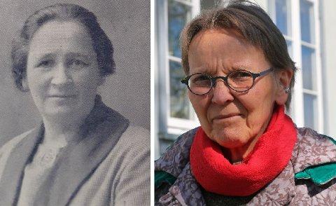 HAR UNDRET: Sirkka Seljevold (til høyre) ved UiT har lagd en filmfortelling om Hansine Hansen. – Jeg har undet hvem denne sterke, fremsynte damen var, sier Seljevold. Foto: arkiv/Gaute Bergsli