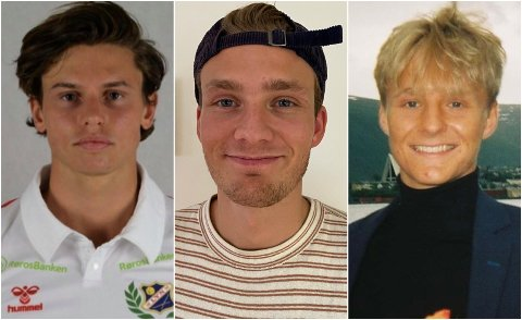 TIL D-TALENTER: Disse tre spilte i sin tid på TIL D. Fra venstre: Henrik Elvevold, Eskil Krane Dahl og Aksel Klingenberg.