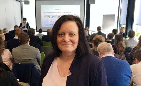 KJØPER: Administrerende direktør Rita Karlsen ved Brødrene Karlsen i Senja.