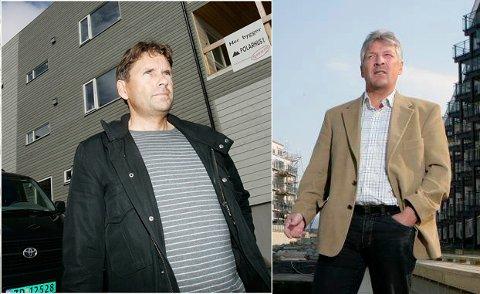 MØTTES I RETTEN: Johnny Bårdsen og Terje Johansen hadde et nært forretningssamarbeid, der Johansen var styreleder i Bårdsens selskap. Så røk de uklar om en husleiekontrakt.
