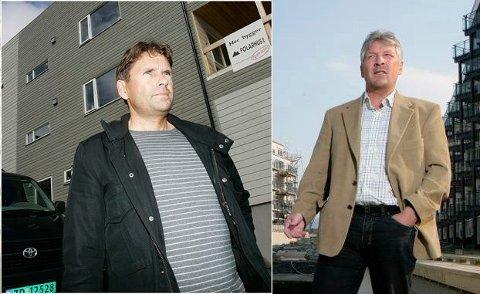 MØTTES I RETTEN: Johnny Bårdsen (t.v.) fikk medhold på alle punkter i sitt søksmål mot tidligere samarbeidspartner Terje Arnulf Johansen.