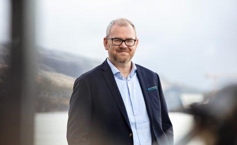 FORNØYD: Rapporten har synliggjort mulighetene vi har langs kysten, sier Lars Fredrik Mørch, daglig leder i Namdalskysten Næringsforening.