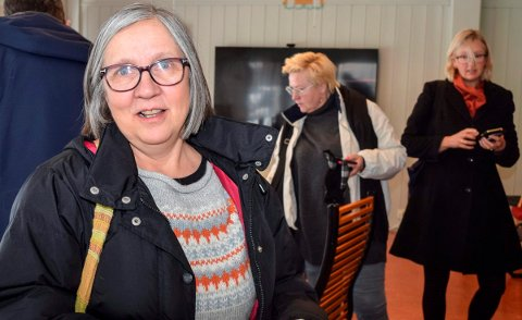 MJØSAKSJON: Grete Antona Nilsen tar til orde for en ny mjøsaksjon for å styrke folks bevissthet om mjøsa som drikkevannkilde.