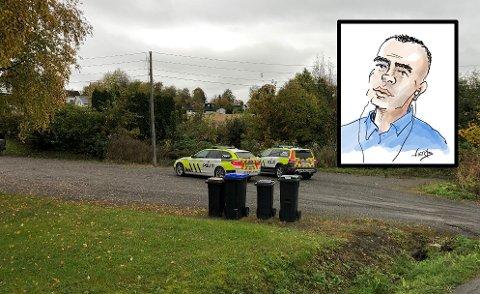 I AVHØR: Politibetjent Torstein Westby sto bak pågripelsen og foretok det første avhøret av familiefaren på Kapp. I en av disse bilene ble det første avhøret tatt.