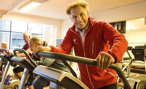 LEGGER NED: Styreleder Tom Erik Oxholm ved Sprek Fritid Tønsberg stenger senteret 4. januar.