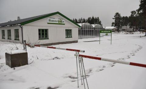 STENGT FOR VINTEREN: Blomsterkrokens hagesentre har kun åpent i sommerhalvåret. Til våren blir det ny aktivitet blant annet på Løvbergsmoen i Elverum.