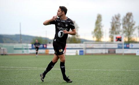 DOBBEL: Erik Nordengen satte inn to mål mot Grorud lørdag. Bildet er fra en tidligere anledning.