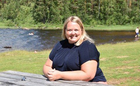 IDYLL: Rokosjøen gir rekreasjon og ro i sjela, mener Løten-ordfører Marte Larsen Tønseth.