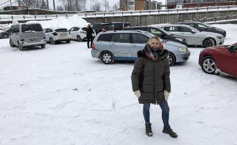 GÅR FOR BILPOOL: Vivi Lunke Røhne vil legge til rette for at kjøperne slipper å ha egne biler.