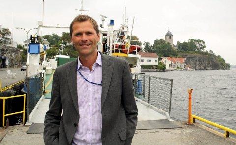 FERGE: Bjørge Fredheim er styreleder i fergeselskapet.
