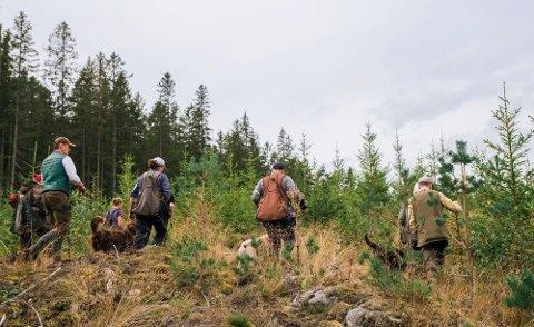 DOKUMENTERT: Jegere fra Rakkestad har registrert 223 skyteprøver og over 4057 prøveskudd.