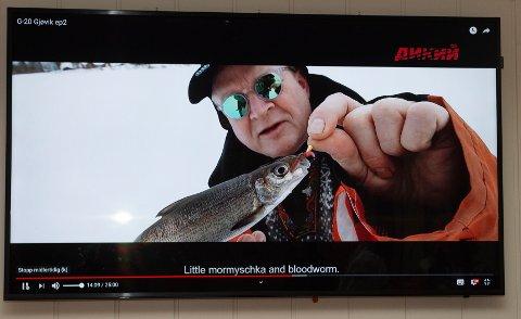 Dr. Hook: Geir Sivertzen figurerer som fiskekjendis foran 30 millioner russere.