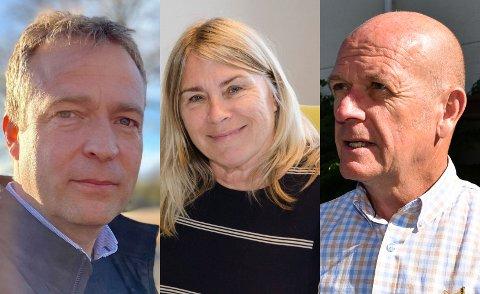 VIKEN-MØTE: De tre lokale ordførerne deltok i møtet med blant annet Statsforvalteren tirsdag kveld.