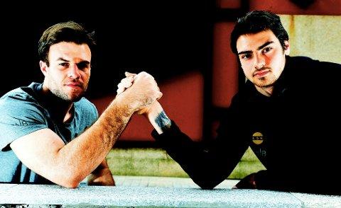 GODE VENNER: Marko Maric (t.v.) og Matvei Igonen konkurrerer om keeperplassen i LSK, men de er også meget gode venner.