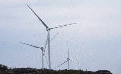 Norske vindkraftprodusenter selger god samvittighet til Europa. Det gjør at vindkraftanlegg som ellers ikke hadde vært lønnsomme, blir bygget. Foto: Terje Pedersen (NTB scanpix)