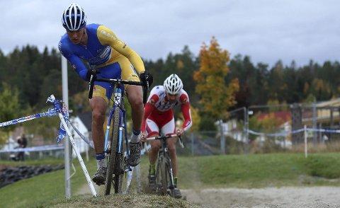 AVSLUTTET MED SØLV: Kristoffer Wormsen fra Filtvet avsluttet den norske sesongen med sølv i NM i Cyclecross.  Foto: Ola Morken