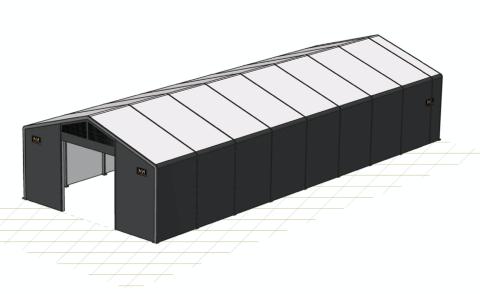 PLAST: Yggeset Gjenvinningsstasjon ønsker å sette opp en plasthall på 250 kvadratmeter, men har ennå ikke fått svar fra kommunen.