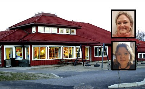 LEIRSKOLE: Monica Undseth og Solveig Marie Terjesen vil ha fem dagers leirskole for elevene på Melsom skole og i resten av Sandefjord kommune.