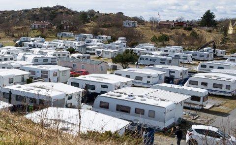 SMITTE OPPDAGET: En person på Oddanesand camping i Brunlanes har testet positivt for korona. Smitten kan ha spredt seg på campingen.