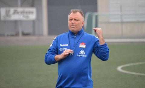 GLEDER SEG: Sparta-trener Terje Jonassen gleder seg til Spartas 1. runde-oppgjør mot FFK.