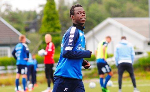 LÅNES UT: Boubacar Konte lånes ut fra Sarpsborg 08 til FC Nordsjælland.
