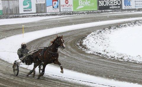 TESTET FORMEN: Lionel og Gøran Antonsen testet formen under mer vinterlige forhold sist lørdag.