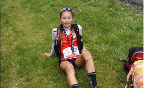 Linnéa Valhovd Hove (17) tok en suveren seier i U29-klassen under ultramaratonet Lysefjorden lørdag.