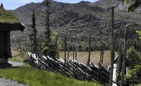 Fant feil: Det er avdekket mange ulovlige bygg og gjerder i Gaustaområdet. Skigarder er populære nå. (illustrasjonsbilde)