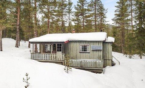 BILLIGST: Dette er den rimeligste hytta på markedet i Hjartdal kommune akkurat nå. Perfekt for to personer som ikke krever luksus.