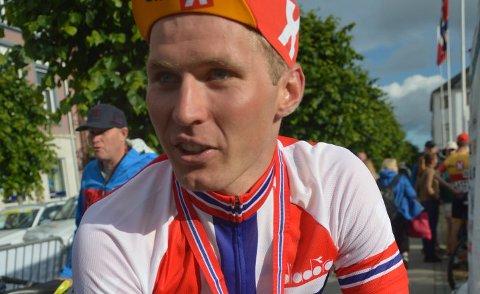 VM-KLAR: Torjus Sleen er klar for VM på sykkel.