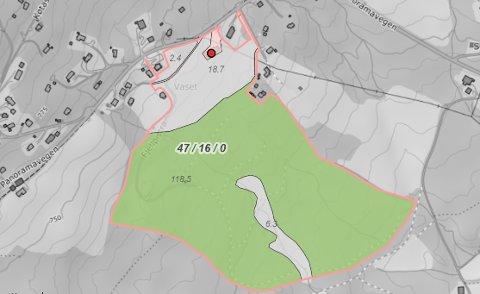 NYLIG SOLGT: Denne eiendommen i Svedalen var den dyreste av de 31 eiendommene som fikk nye eiere i Nord-Aurdal i april.
