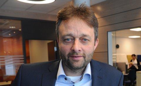 SERLYSTPÅDET:Banksjef Robert Eriksen i SpareBank 1 tror trenden med økende gjeldsgrad allerede er i ferd med å snu.
