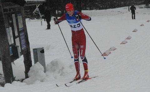 TREDJEMANN TOTALT: Ola Skaar ligger på 3. plass i regioncupen i langrenn etter fire renn.