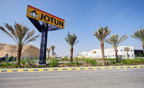 INNOVATIV, OGSÅ UTENLANDS: Jotun er innovativ, over store deler av verden. Bildet er fra Muscat i Oman.