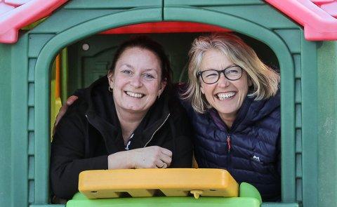 Følelser i bua: Hege Frøyland (t.v.) og Lena Susanne Moland satser på å bli de eneste EQ-sertifiserte barnehagene på Nesodden. Alle foto: Staale Reier Guttormsen