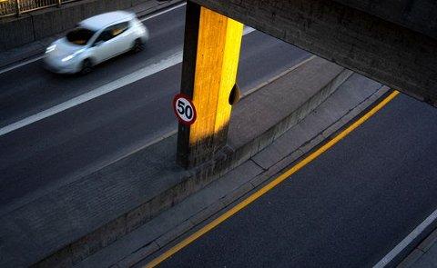 VERSTING-MERKER: Det er tydelige forskjeller mellom bilmerkene når det kommer til fartsoverskridelser, i følge forsikringsselskapet Fremtind.