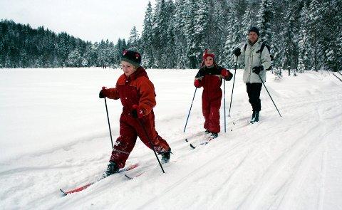 POPULÆR: Løypa over Småvanna er populær for barnefamilier fordi terrenget er lite kupert.