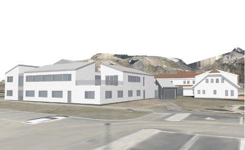 Ikke nok: Det holder ikke bygge nok et kontorbygg på Tjenna, hevder Helge Krystad i dette innlegget.