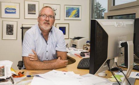 Som forventet: Ordfører i Risør, Per Kr. Lunden (Ap). Foto: Arkiv