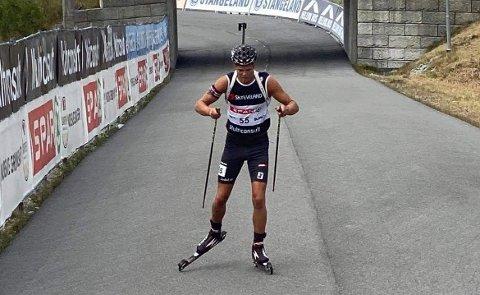 TILBAKE MED STARTNUMMER: Kristian Aasbø var en av tre gjersdølinger under Blinkfestivalen i helgen.