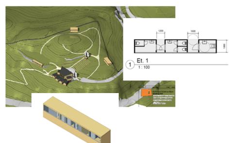 FORBEDRING: Permanente toaletter og en utvidet hovedscene med sidescener er noe av det rådmannen foreslår å ta inn budsjettet i 2023-2024.